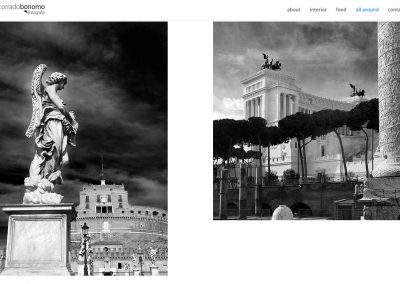 Photographer Corrado Bonomo's website