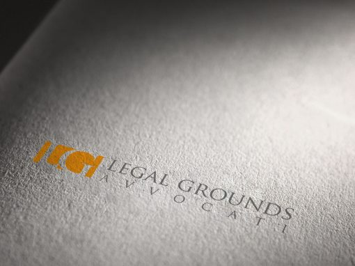 Logo e corporate identity Legal Grounds Avvocati