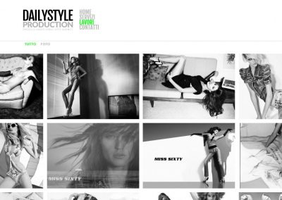 sito internet Daily Style Production - lavori